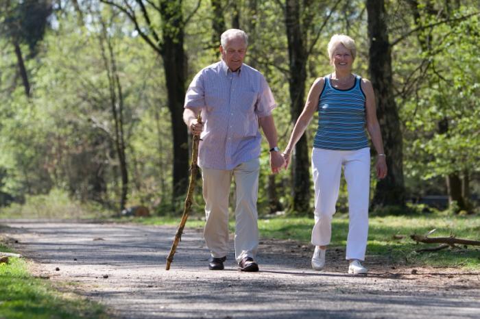 walking for healthier veins