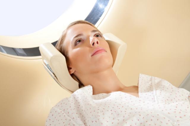 diagnosing tumor through ct scan